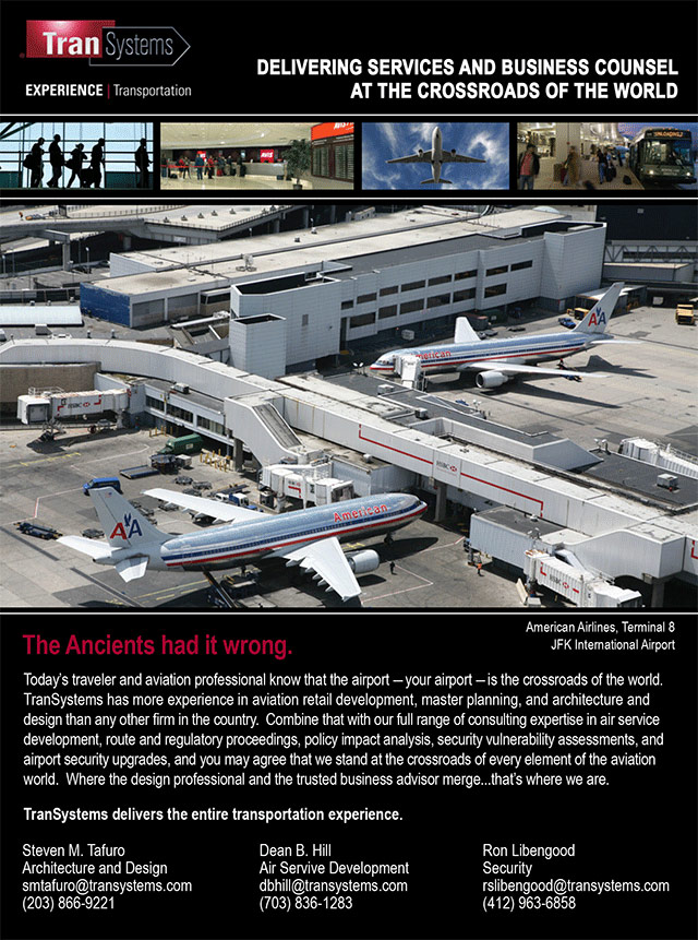 Aviation Sector Ad for Transportation Engineering Consultancy Firm