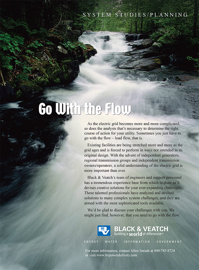 Black & Veatch Ad in T&D Magazine