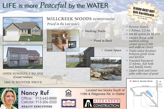 Real Estate Subdivision Open House Ad