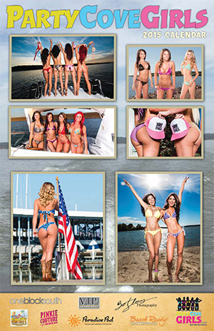 Party Cove Girls 2015 Calendar