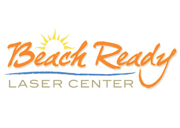 Beach Ready Laser Hair  and tatoo Removal Logo Design