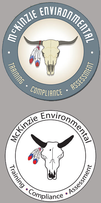 McKinzie Environmental Logo Design