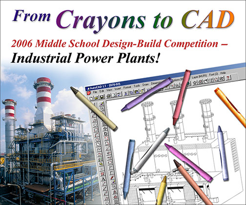 From Crayons to CAD Invitation