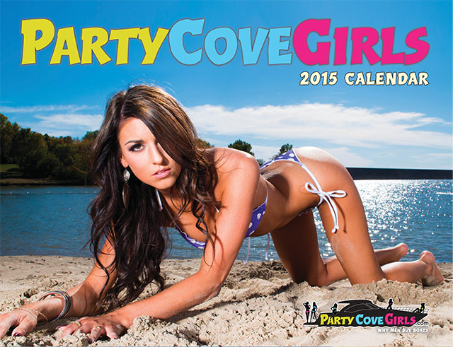 Party Cove Girls 2015 Pinup Clanedar