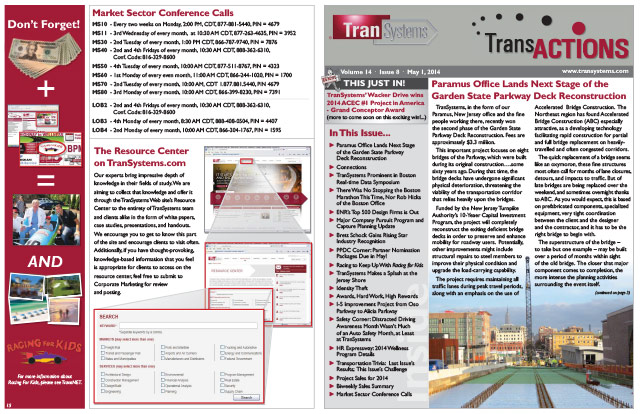 TransActions Corporate Newsletter